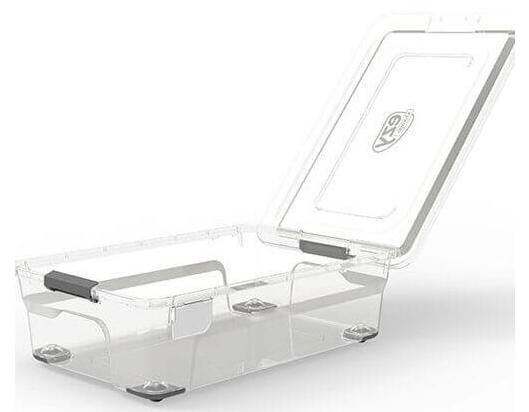 กล่องเก็บของเอนกประสงค์ แบบใส Solutions  รุ่น 4110