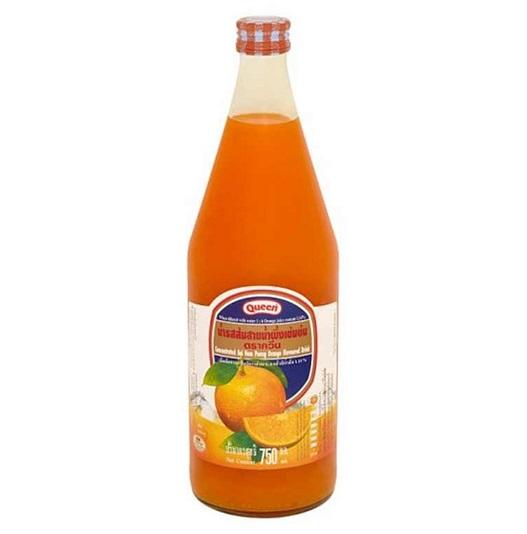 น้ำผลไม้เข้มข้นควีน สายน้ำผึ้ง  750 ซีซี