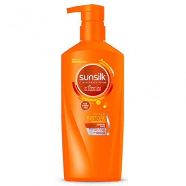 แชมพูซันซิล 450 มล. ส้ม