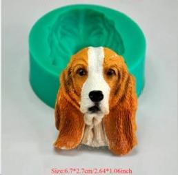 ซิลิโคนโมลรูปน้องหมาหูยาว