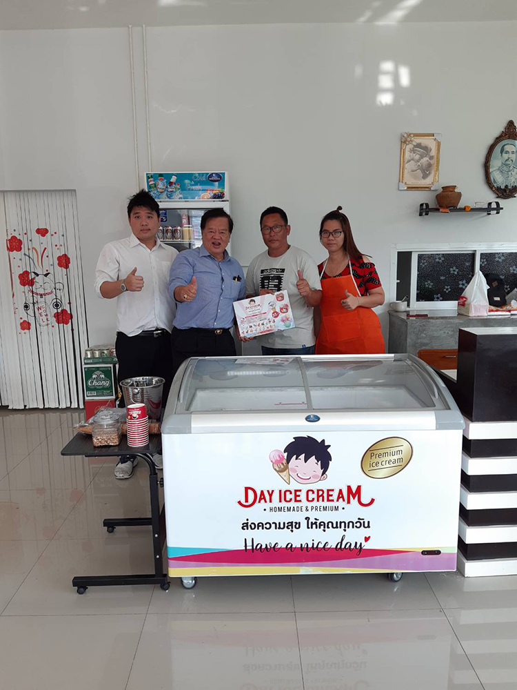 Dayicecream #0051 สาขา 24' May Food&Drink วัดคู่สร้าง-ประชาอุทิศ ^ ^