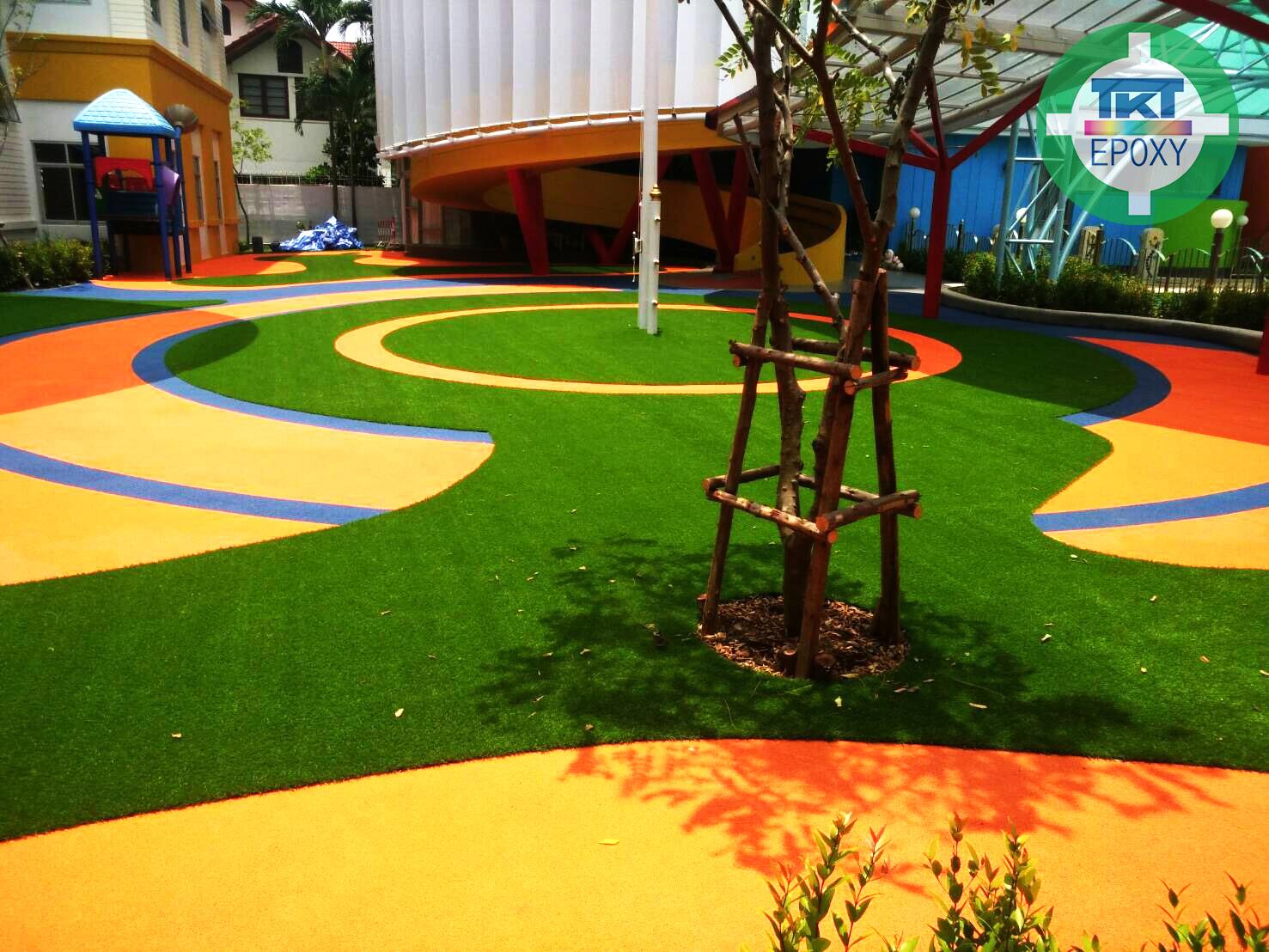 สนามเด็กเล่น โรงเรียนนานาชาติ ปาณยาพัฒนาการ จ.กรุงเทพมหานคร