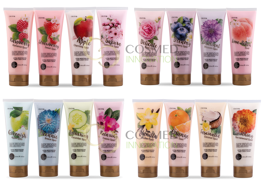 Extra Moisturizing Hand & Body Cream
