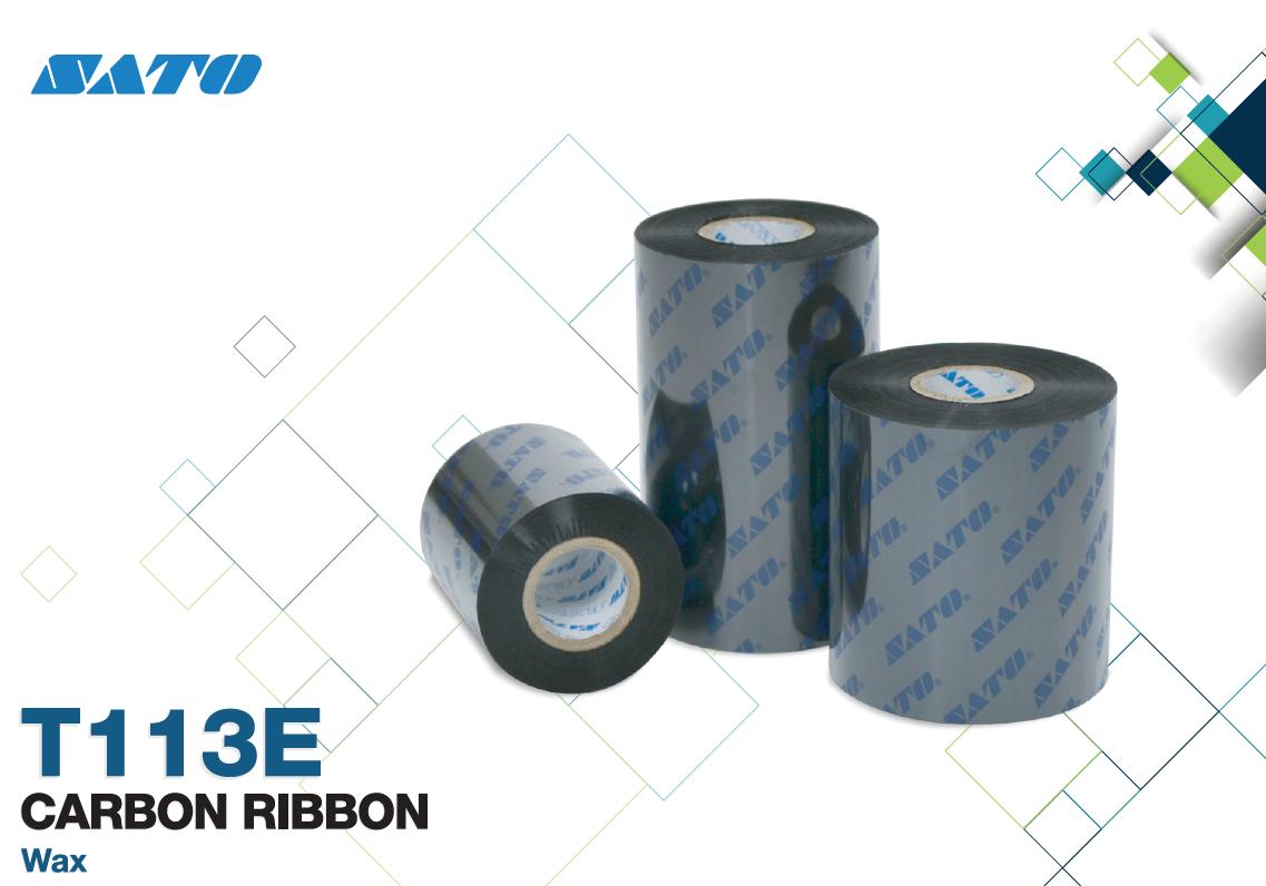 Ribbon Wax Sato T113E