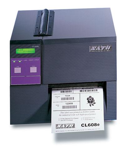 เครื่องพิมพ์บาร์โค้ด Sato CL608e/CL612e