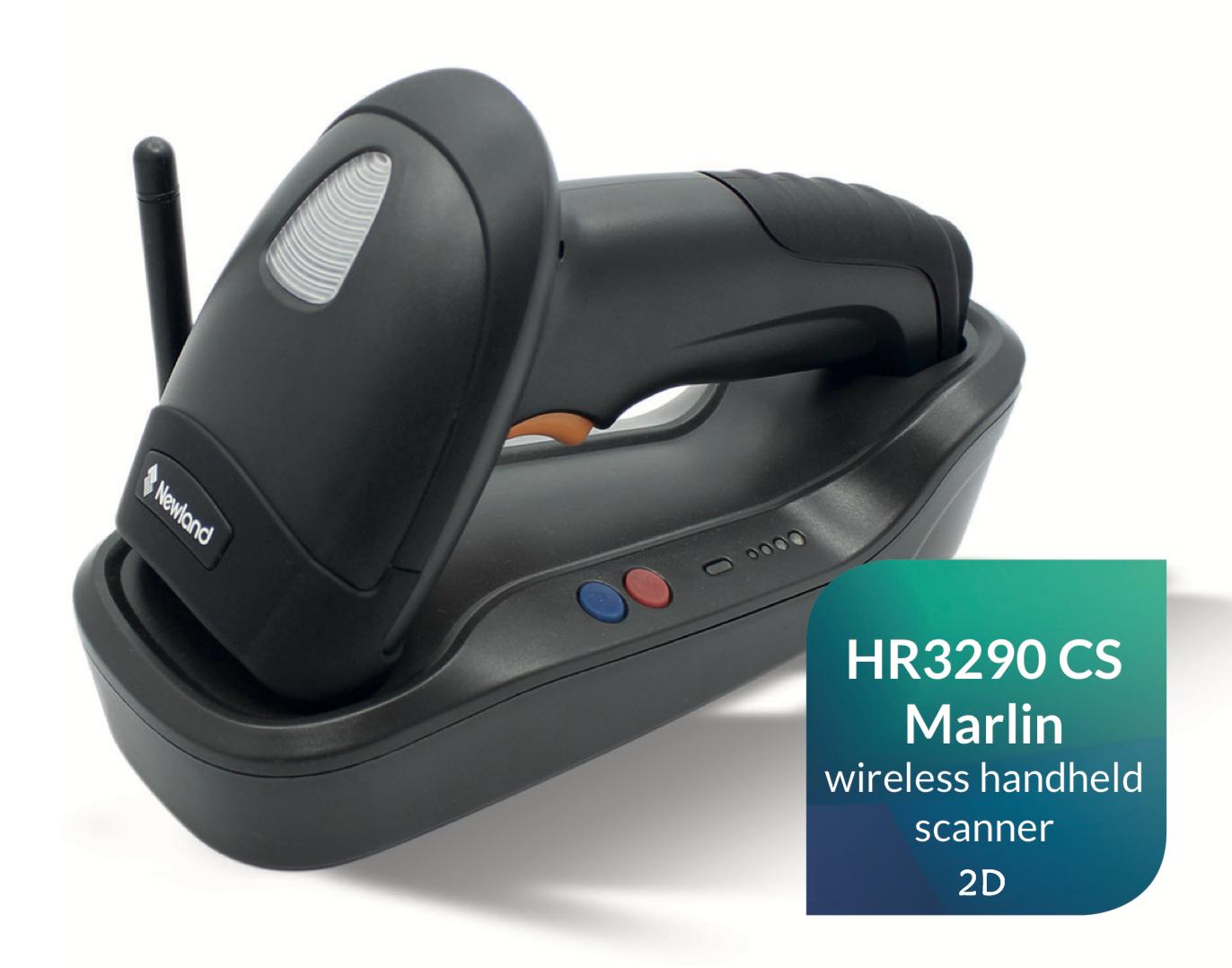 เครื่องอ่านบาร์โค้ด 2D Newland HR3290 CS Marlin Wireless