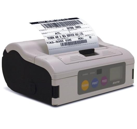 เครื่องพิมพ์บาร์โค้ดชนิดพกพา Sato MB400i Series