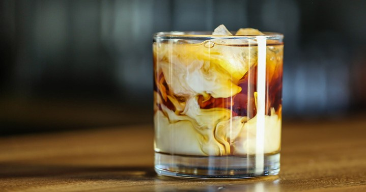Salty White Russian With Coffee