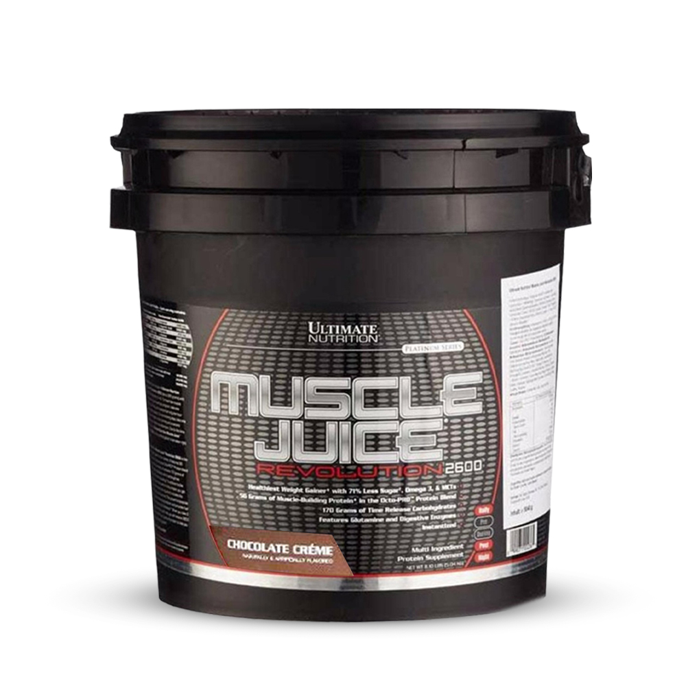 ULTIMATE Nutrition Muscle Juice Revolution 2600 - Mass Gainer 11 Lbs.