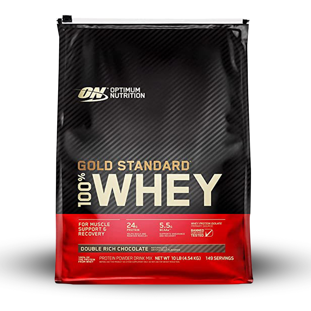 Optimum Nutrition 100% Whey Protein Gold Standard - 10 Lbs