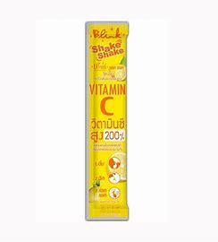 เชค เชค วิตามินซี ขนาด 5 กรัม Blink Shake Shake Vitamin C 40 ซอง