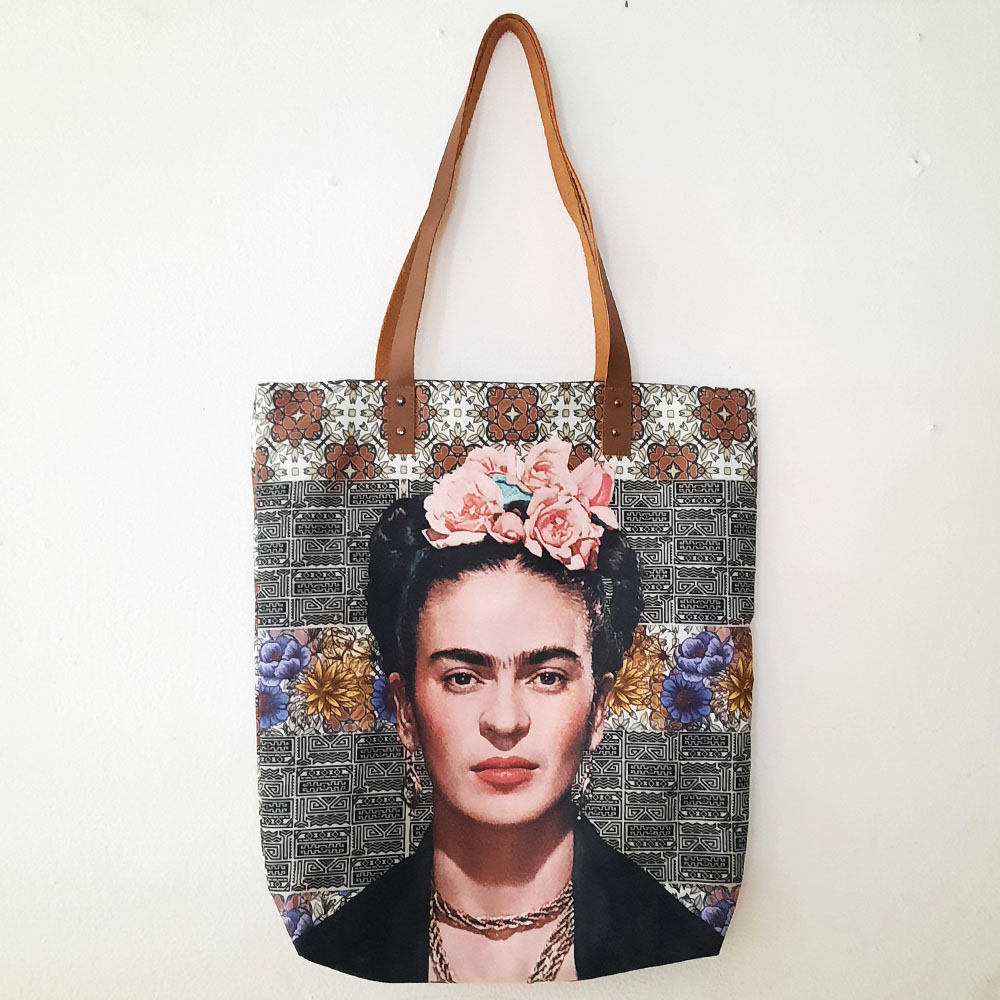 Frida Tote Bags / Canvas Bags / Tote Bags / Canvas Tote Bag / FREE SHIPPING