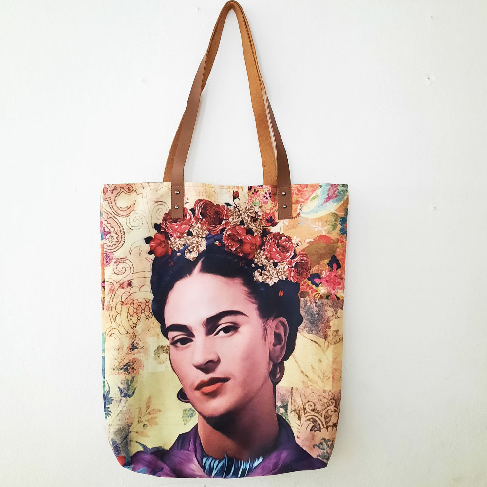 Frida Tote / Canvas Bags / Tote Bags / Canvas Tote Bag / FREE SHIPPING
