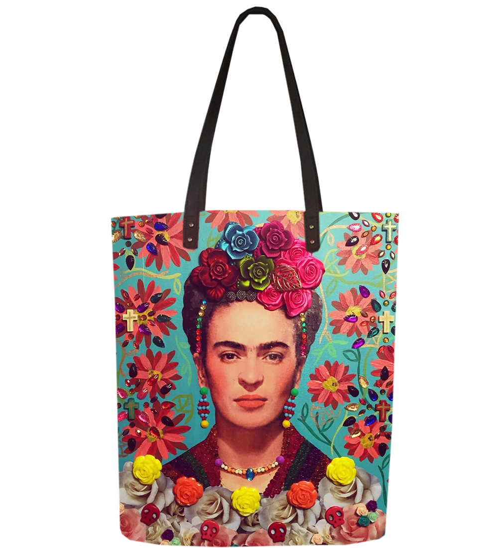 HCB100.044 /  Frida Tote / Canvas Bags / Tote Bags / Canvas Tote Bag / FREE SHIPPING