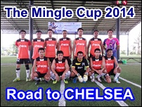 The Mingle Cup 2014 Road to CHELSEA