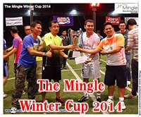 Photo of The Final Match of The Mingle Winter Cup2014