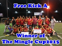 Champ of The Mingle Cup Singha Football League 2015