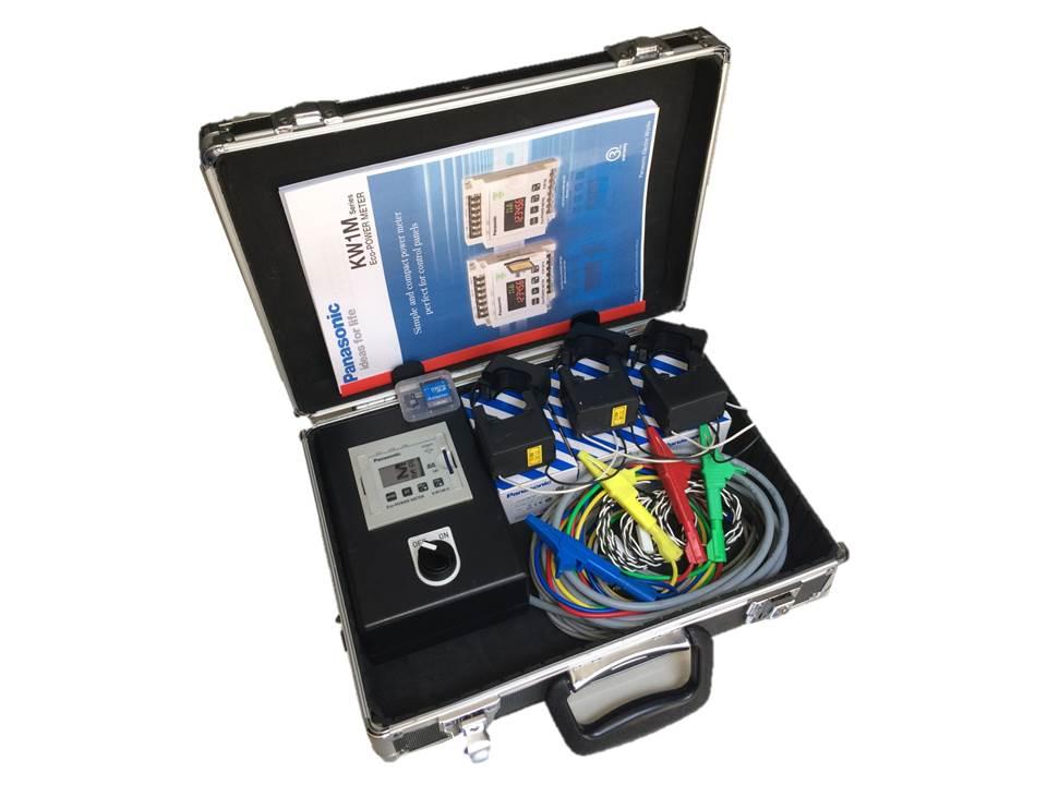 ชุดกระเป๋าอลูมิเนียม POWER METER PANASONIC SD Card ย่าน CT 0-400A / ราคา