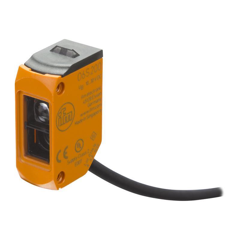 O6S200 , IFM , โฟโต้เซนเซอร์/ ระยะตรวจจับสูงสุด 10 เมตร  / ราคา แบบตัวรับ-ตัวส่ง (ifm photo sensor)
