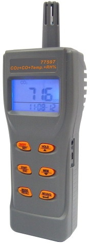 AZ77596 Handheld CO/CO2/Temp./RH IAQ Meter / ราคา