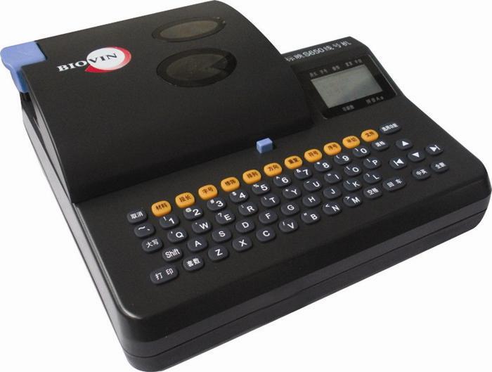 S700E , Biovin เครื่องพิมพ์ปลอกสายไฟ เครื่องมาร์คปลอกสายไฟ  / ราคา