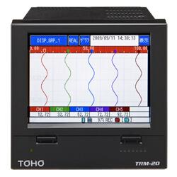 TRM-20 , TOHO Recorder Paperless หน้าจอแบบ Touch Screen ขนาด 5.7 นิ้ว  / ราคา