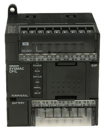 CP1L-L14DT1-D , ออมรอน พีแอลซี  / ราคา Omron CP1L PLC CPU, USB Networking Computer Interface, 5000 Steps Program Capacity, 8 (DC) Inputs