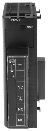 CJ1W-PD022 , ออมรอน พีแอลซี  / ราคา Omron PLC Power Supply CJ1W Series CJ1M Series, 21.6 → 26.4 V dc, 5 V dc, 24 V dc, 2 A 19.6W 81.6 x 90 x 27 mm