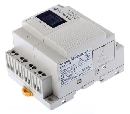 ZEN-10C2AR-A-V2 ,  / ราคา ออมรอน พีแอลซี Omron ZEN Logic Module, 85 → 264 V ac, 6 x Input, 4 x Output With Display