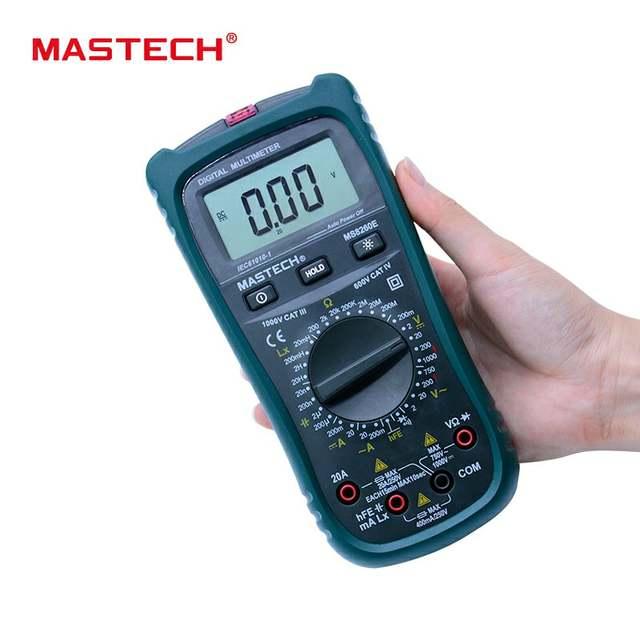 MS8260E , MASTECH  Digital Multimeter Meter  / ราคา