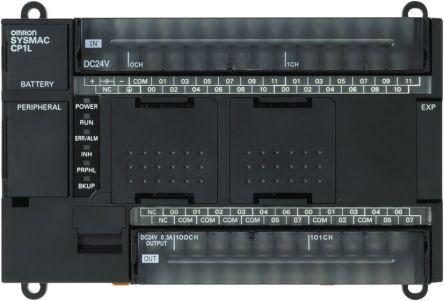 CP1L-M40DR-A , ออมรอน พีแอลซี  / ราคา Omron CP1L PLC CPU, USB Networking Computer Interface, 10000 Steps Program Capacity, 24 (DC) Inputs, 16 (Relay) Outputs