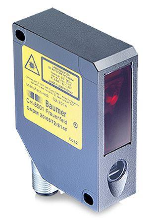 OADM Series , Baumer Background Suppression Photoelectric Sensor 30 → 130 mm Detection Range Analogue, PNP IP67 Block Style / ราคา