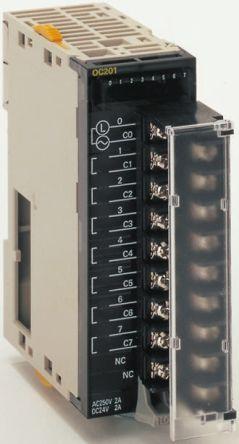CJ1WOC201.1 , ออมรอน พีแอลซี  / ราคา Omron SYSMAC CJ Series PLC I/O Module 8 Outputs 2 A 24 V dc, 250 V ac, 89 x 31 x 95.4 mm