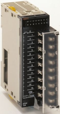 CJ1W-ID211-L , ออมรอน พีแอลซี  / ราคา Omron PLC Expansion Module Input 16 Input, 5 V dc 90 x 31 x 89 mm