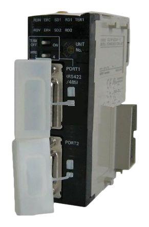 CJ1W-SCU41 , ออมรอน พีแอลซี  / ราคา Omron CJ Series PLC I/O Module