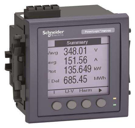 METSEPM5100  , Schneider Electric PM5000 LCD Digital Power Meter, 92mm x 92mm, 3 Phase , ±0.5 % Accuracy / ราคา