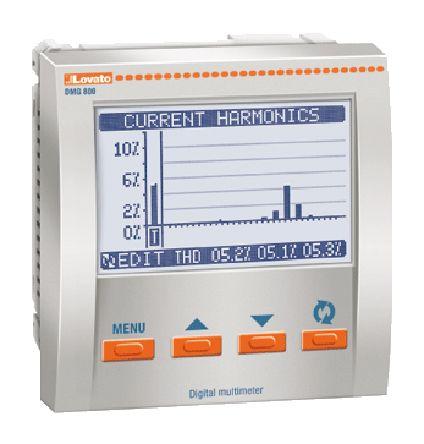 DMG800 , Lovato LCD Digital Power Meter, 92mm x 92mm, 1, 2, 3 Phase , ±0.5 % Accuracy / ราคา