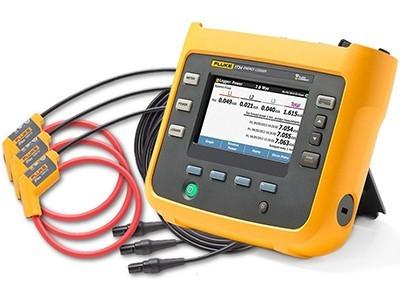 Fluke 1734/INTL : เครื่องมือบันทึกกำลังไฟฟ้าสามเฟส  / ราคา