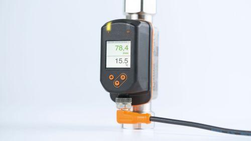 SV5200 IFM เซนเซอร์วัดการไหล (โฟลว์มิเตอร์แบบ Vortex)/ ย่านการวัด 2...40 ลิตร/นาที / ราคา