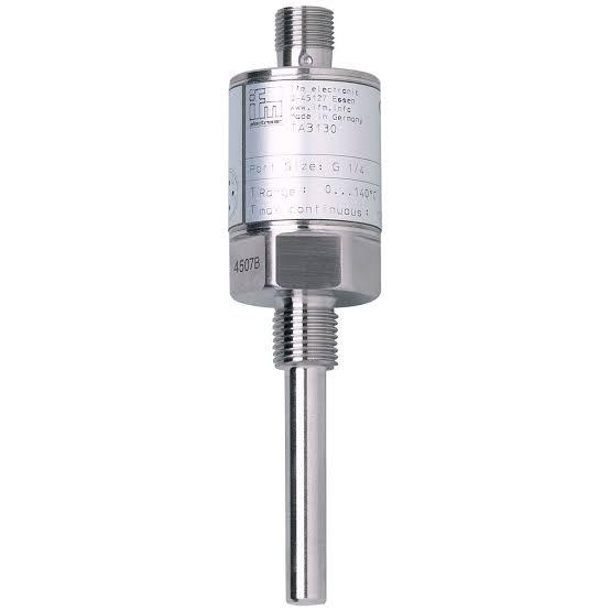 TA3131 , IFM  เซนเซอร์วัดอุณหภูมิ/ Pt1000/ Transmitter/ ย่านการวัด -50...150 °C/ Installation length EL 60mm / ราคา
