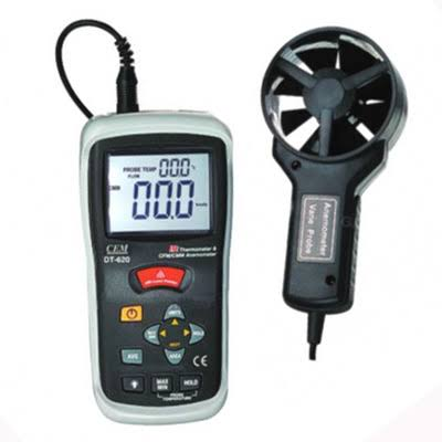DT-620 / CEM เครื่องวัดความเร็วลม ANEMOMETER WITH IR THERMOMETER / ราคา