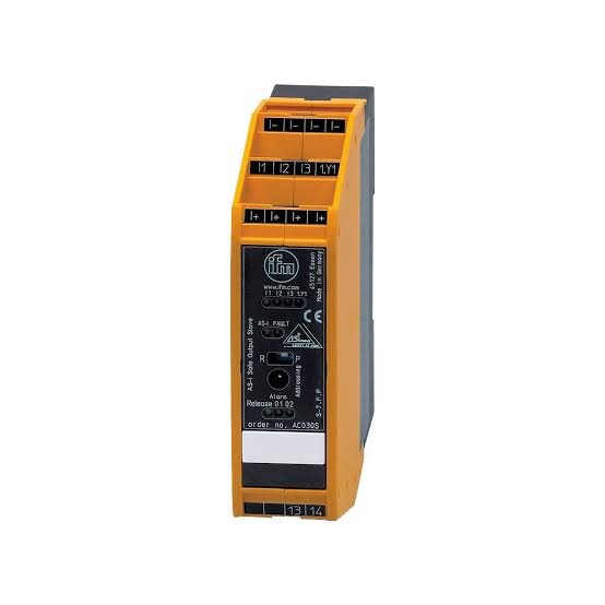 AC030S , ifm electronic , / เซ็นเซอร์ / ราคา efector / AS-i Safety at Work/ AS-i output module/ 4 non-safe inputs 2 non-safe LED outputs 1 safe relay output