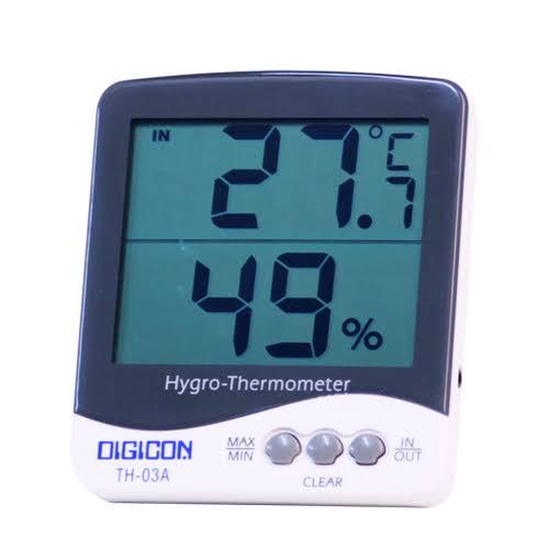 TH-03A มิเตอร์วัดอุณหภูมิ และความชื้นแบบอิเล็กทรอนิกส์ / ราคา
