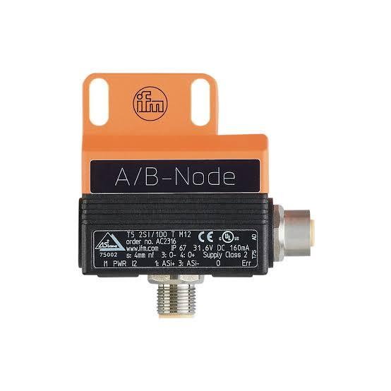 AC2316 IFM เซนเซอร์ตรวจจับตำแหน่งของวาล์ว/ Valve sensor/ ระยะตรวจจับ 4mm/ AS-interface sensor / ราคา