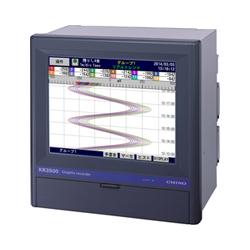 KR3000 เครื่องบันทึกอุณหภูมิและค่าทางไฟฟ้า Chino Graphic Recorder / ราคา