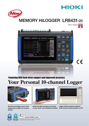 Hioki-LR8431-20 เครื่องบันทึกข้อมูลอเนกประสงค์ | 10 Channels