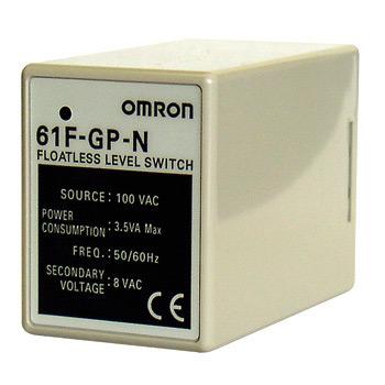Omron 61F-GP-N (AC220V) รีเลย์สำหรับเครื่องควบคุมระดับแบบก้านอิเล็กโทรด Floatless Level Switch / ราคา
