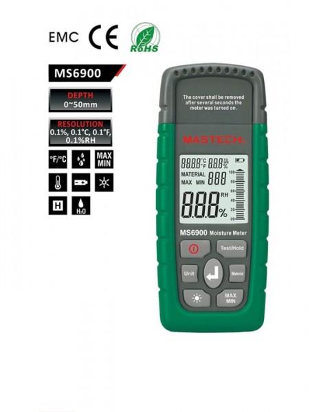 MS6900 - Mastech เครื่องวัดความชื้นไม้ Moisture Tester