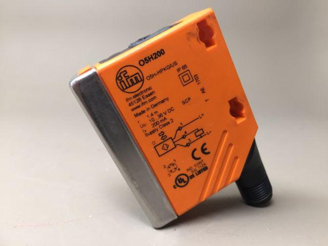 O5H200 , IFM , โฟโต้เซนเซอร์/ ระยะตรวจจับ 50...1,400mm  / ราคา แบบสะท้อนกับวัตถุ (ifm photo sensor)