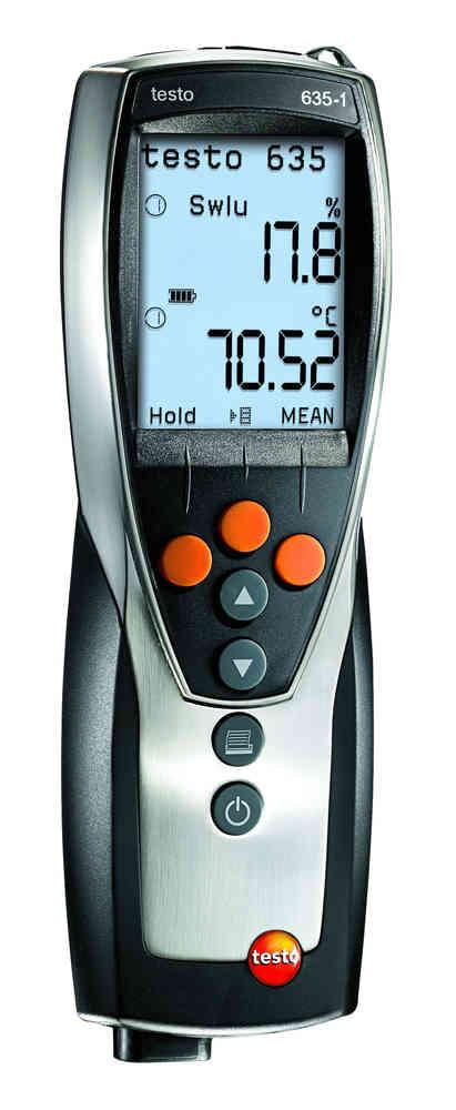 Testo-635-1 เครื่องวัดอุณหภูมิความชื้นสัมพัทธ์ / ราคา